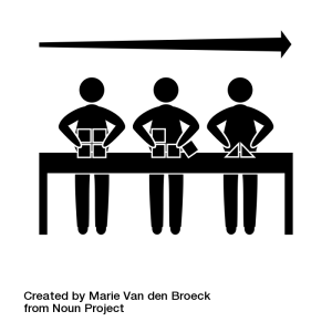 assembly line by Marie Van den Broeck from the Noun Project